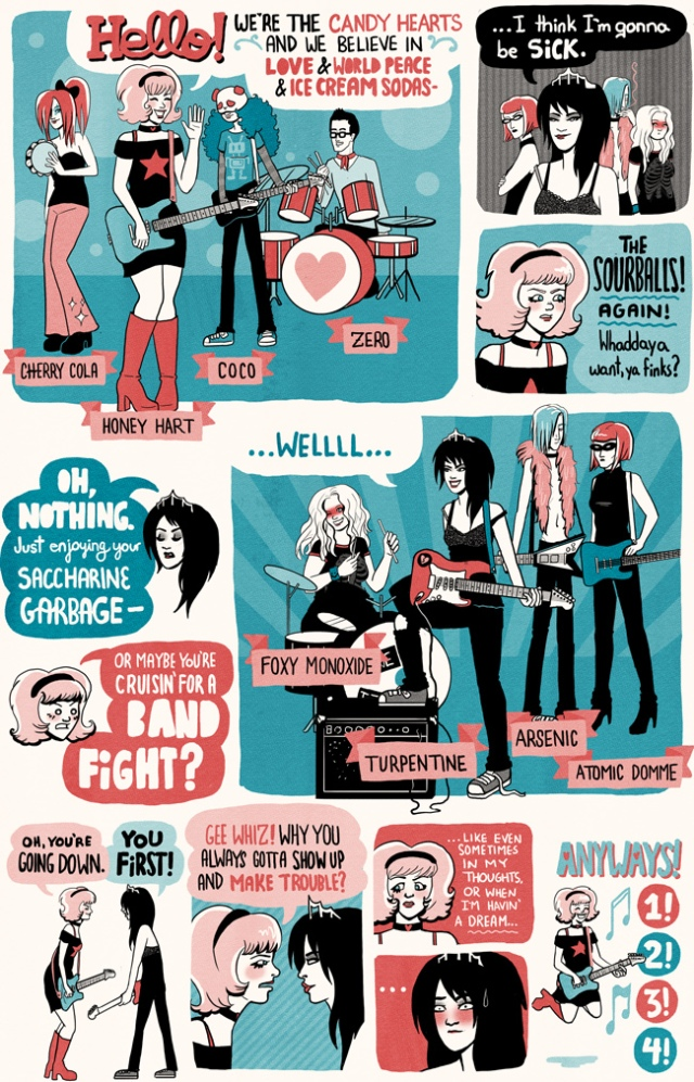 band vs band