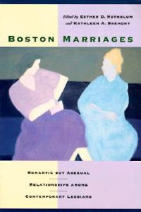 boston marriages