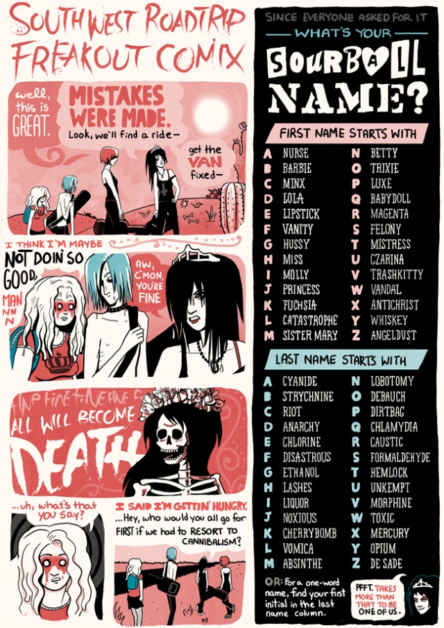 what's your sourball name band vs band